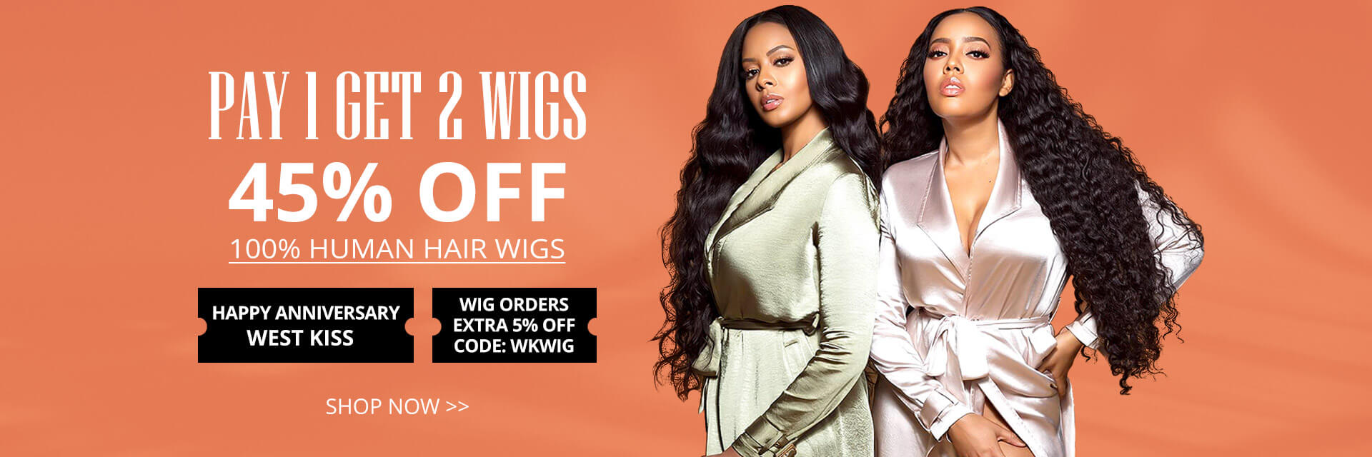 Stand out yourself with your new human hair lace wigs