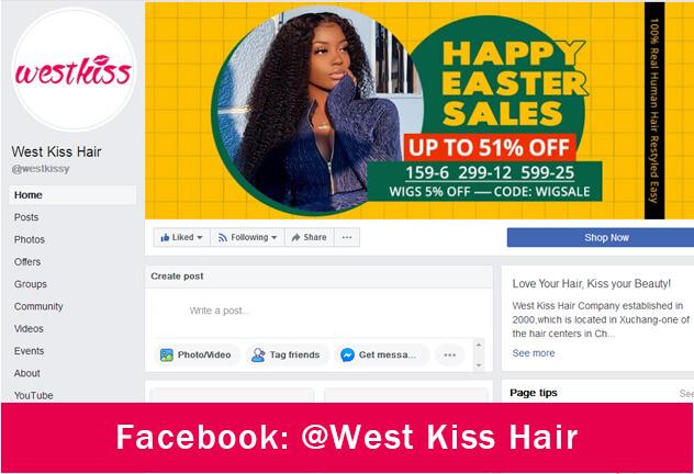 facebook west kiss