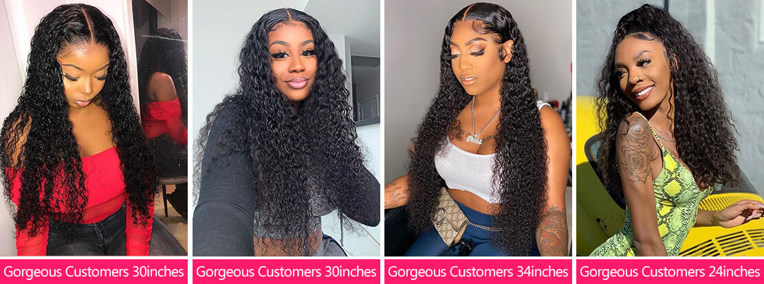 West Kiss Hair hot selling curly wig show