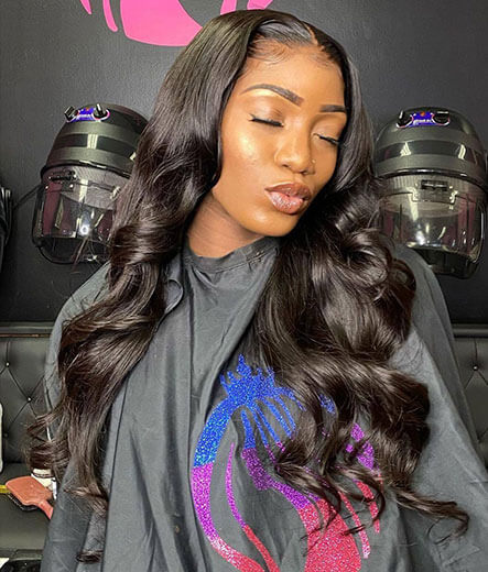 Body wave HD lace wigs