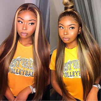 Straight Highlight Wigs