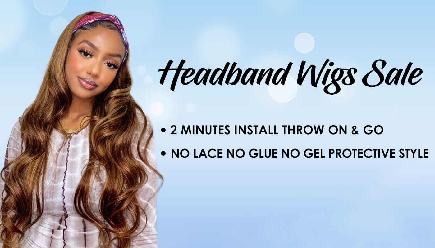julia hair headband wigs